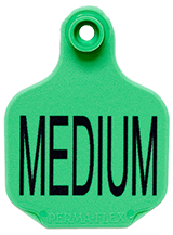 Perma-Flex Medium Cattle Ear Tag